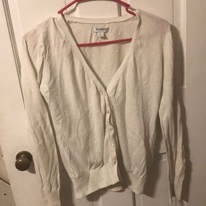 button-up sweater